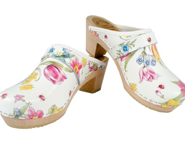 Ladyclogs Summer Flower1